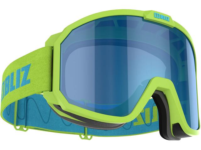 Bliz Rave Gafas Niños, verde/azul